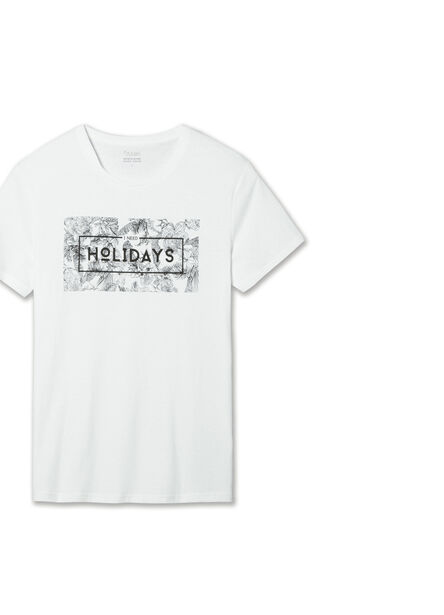 Tee shirt imprimé I need Holidays