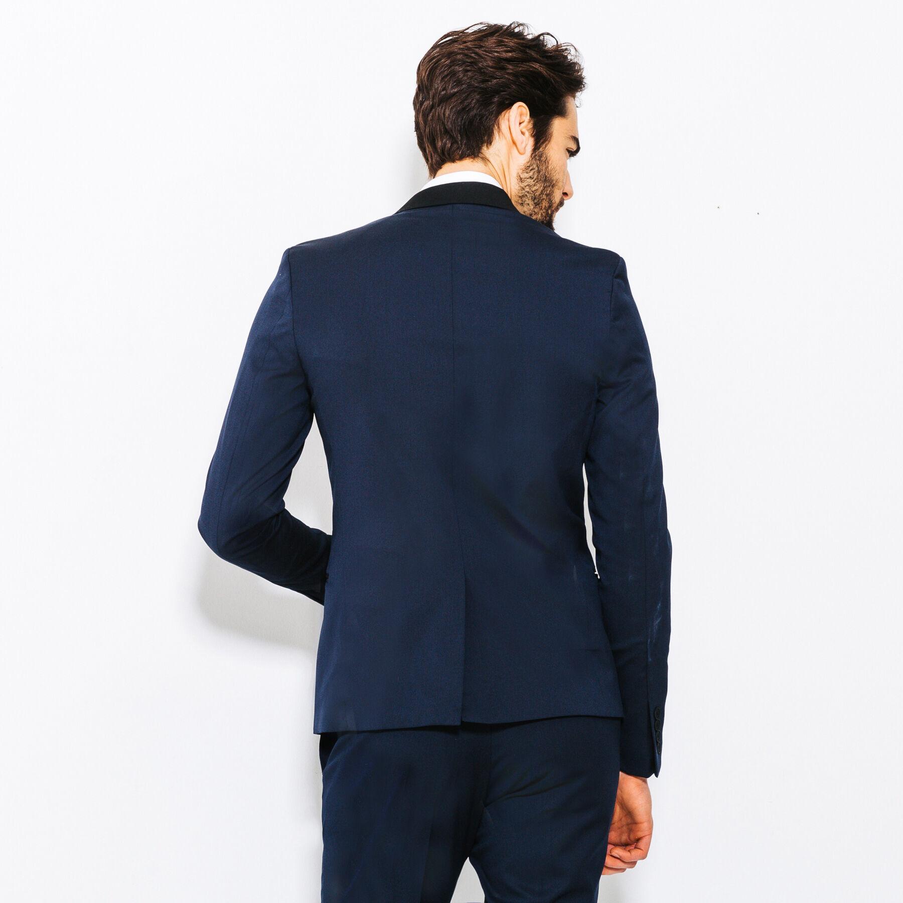 veste de costume extra slim bleu marine homme jules. Black Bedroom Furniture Sets. Home Design Ideas
