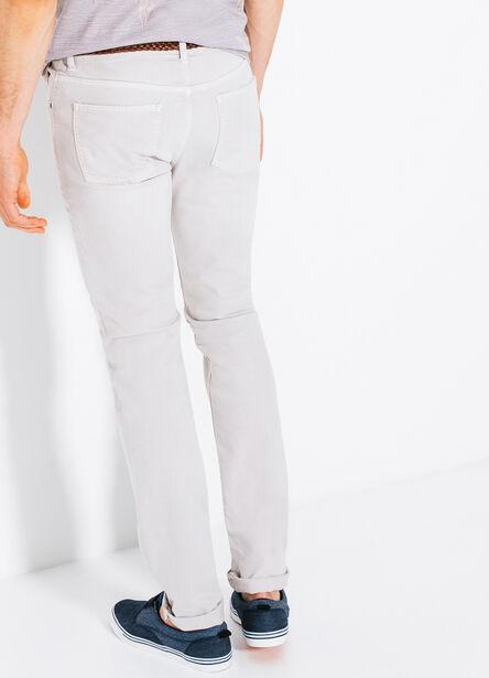Pantalon 5 poches slim destroy
