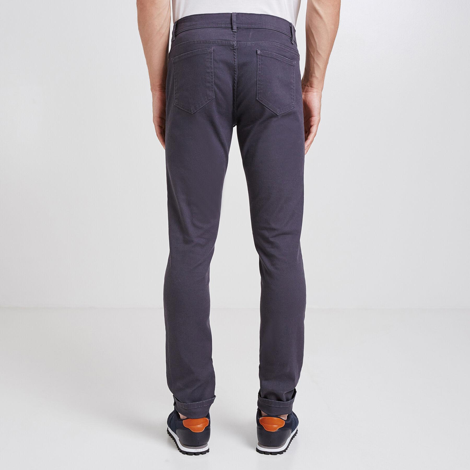 pantalon slim 5 poches gris homme jules. Black Bedroom Furniture Sets. Home Design Ideas