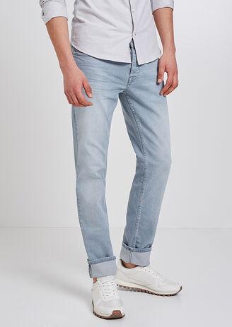 Jean Straight bleu grisé