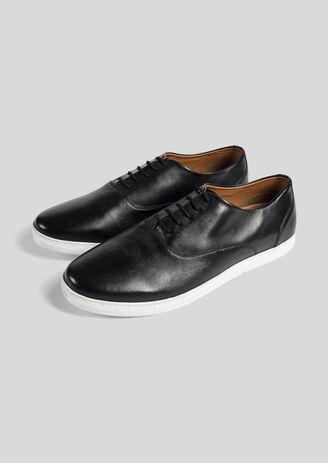 Chaussure cuir noir