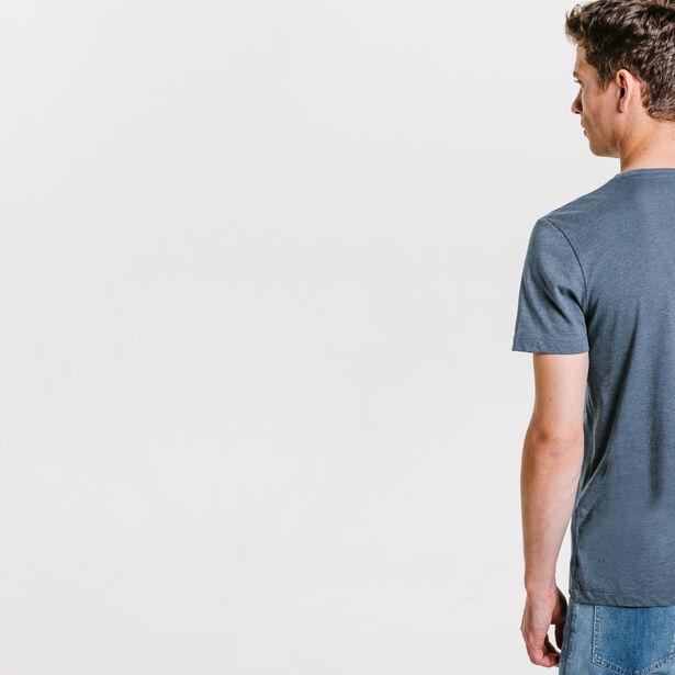 Tee shirt imprimé géométrique
