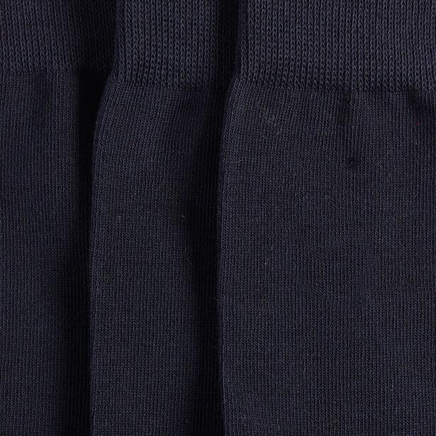 Chaussettes en coton bio par lot de 3