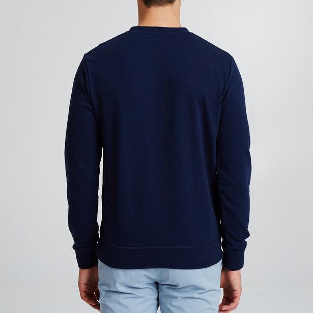 Sweater met ronde hals en tekening op de borst, ma
