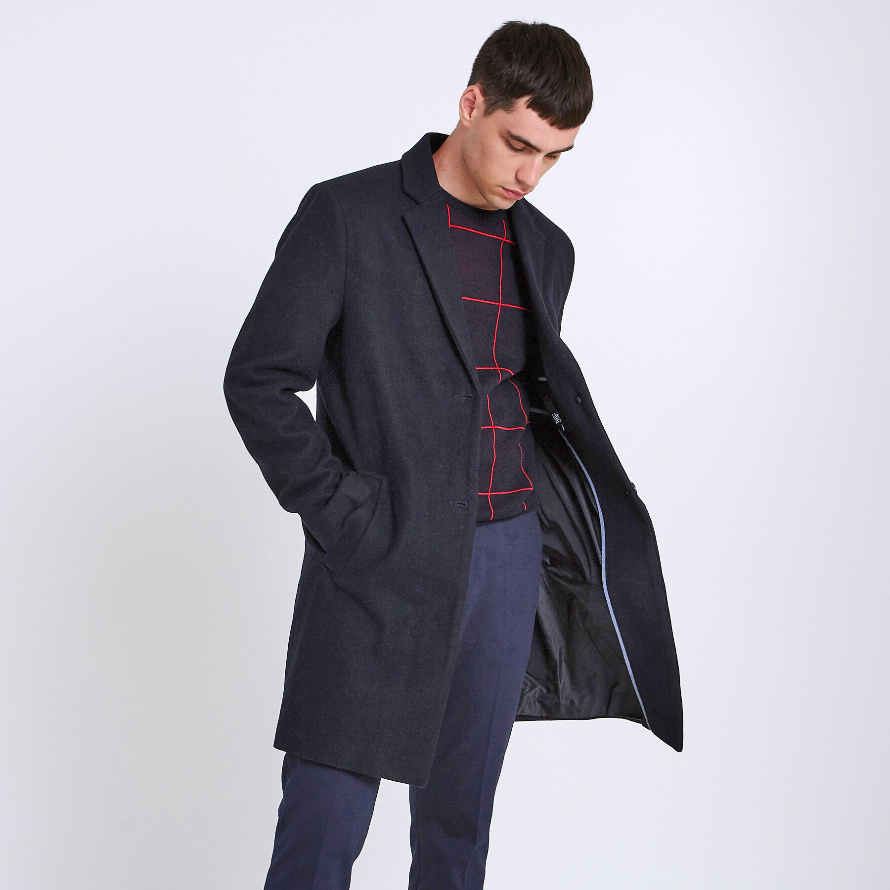 Cappotto Jules Giacca Caban Uomo Trench Uomo wSPqpYw