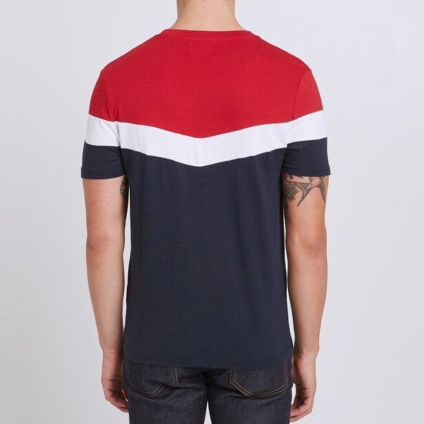 Tee shirt colorblock