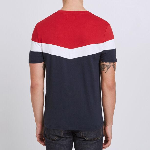 Tee shirt colorblock