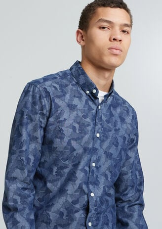 Chemise Camouflage Feuilles