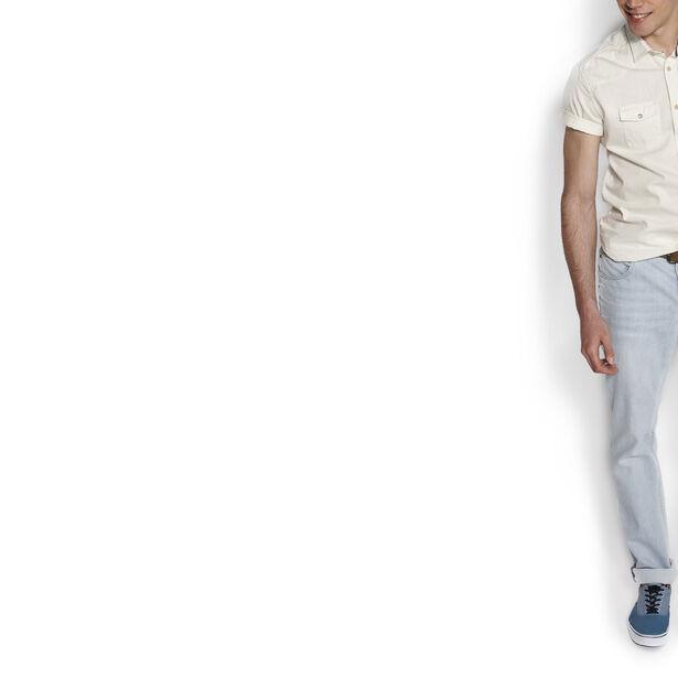 jean straight bleach
