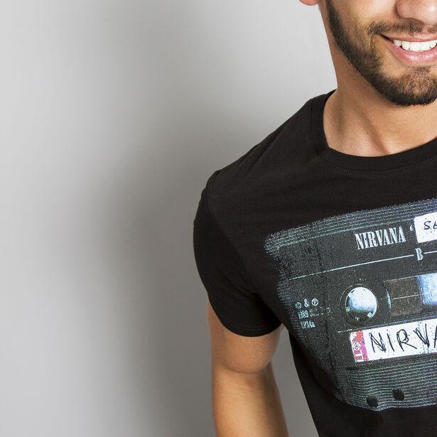 T-shirt imprimé Nirvana