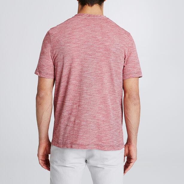 T-shirt met walrusprint en opdruk 'Quand la mer es
