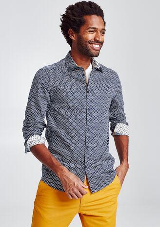 sélection premium 443d6 e5ca4 Chemise homme, chemise slim, chemise ajustée - Jules