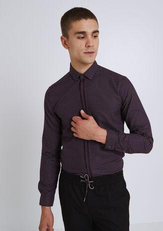 Camicia Ricamata Slim