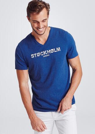 Tee-shirt V slim STOCKHOLM