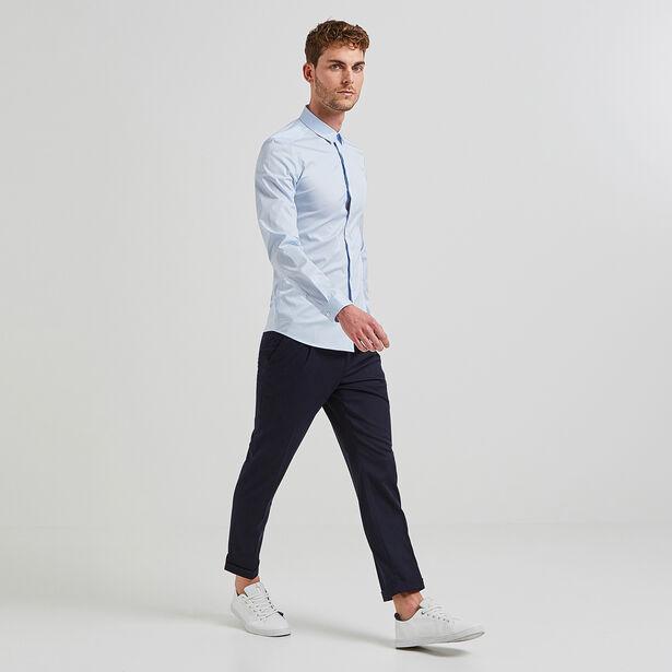 Camicia Extra-Slim Tinta Unita