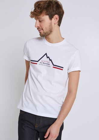 Tee shirt imprimé collection Jules le style à la f