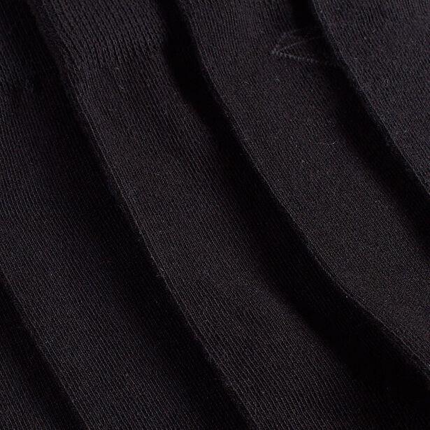 Set van 5 paar sokken met gekleurde hiel en teen