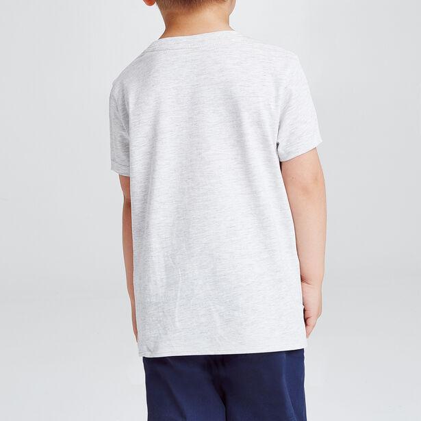 tee shirt enfant imprimé MINI FUN avec sa définiti