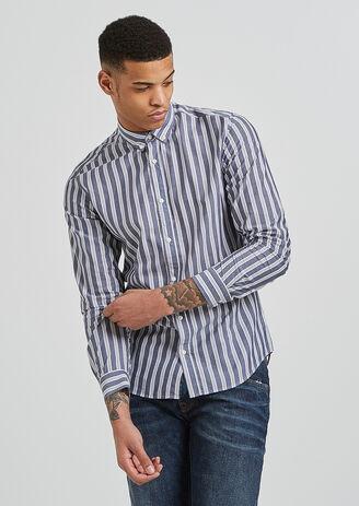 Chemise regular à rayures