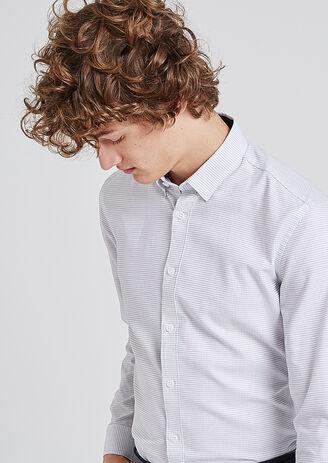 Camicia Regular Ricamata