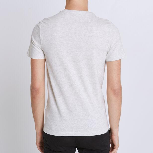 Tee shirt col rond imprimé graphique
