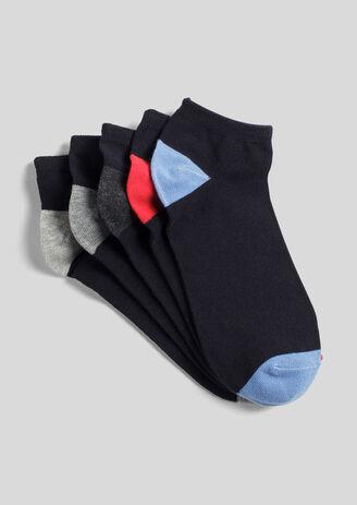 Lot de 5 chaussettes tiges basses