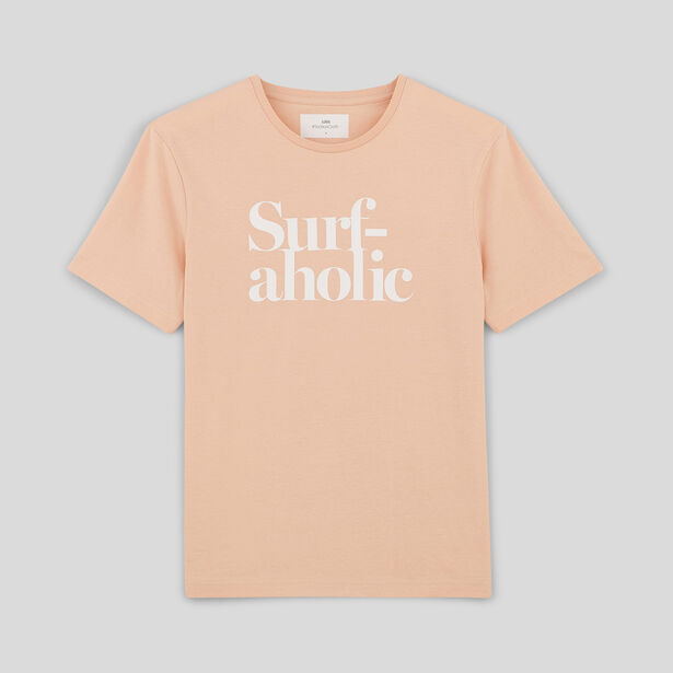 tee shirt SURF-AHOLIC
