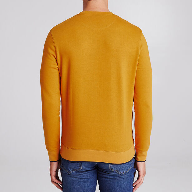 Sweater met tekstmotief