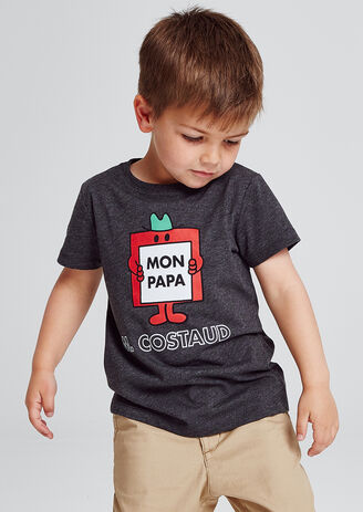 T-shirt enfant licence  MR COSTAUD