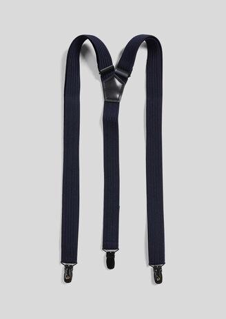 Effen elastische bretels