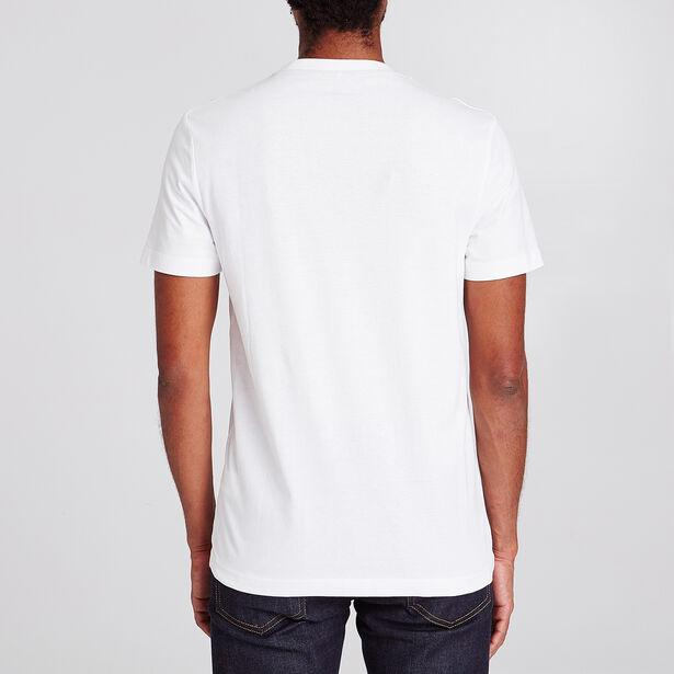 Tee shirt col rond imprimé Paris