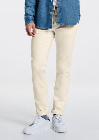 Pantalon 5 poches slim coton stretch