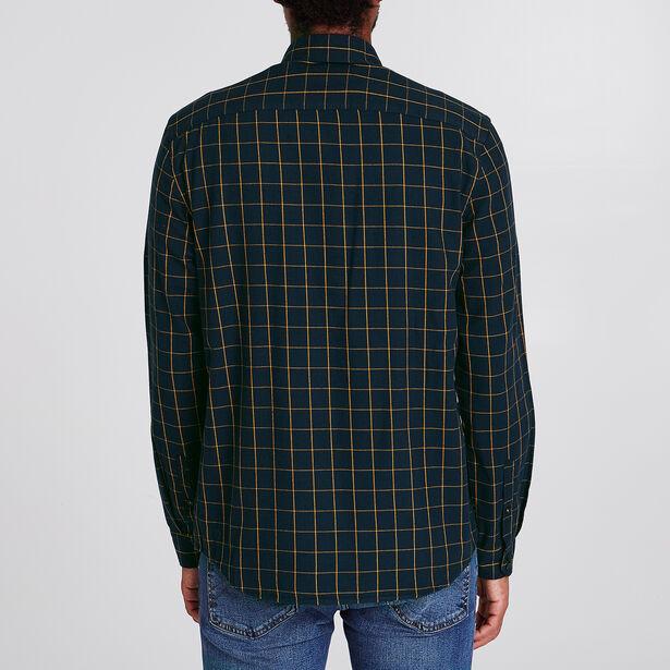 Chemise coupe Regular à carreaux