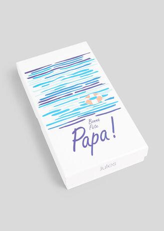 Coffret cadeau : Fête des Pères. Ceinture et porte