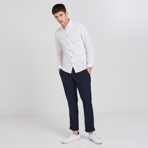Camicia Slim Tinta Unita