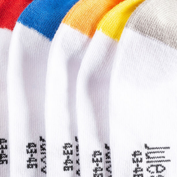 Chaussettes basses colorées lot de 3