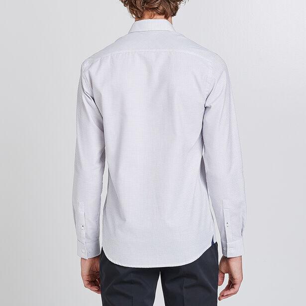 Regular geborduurd hemd