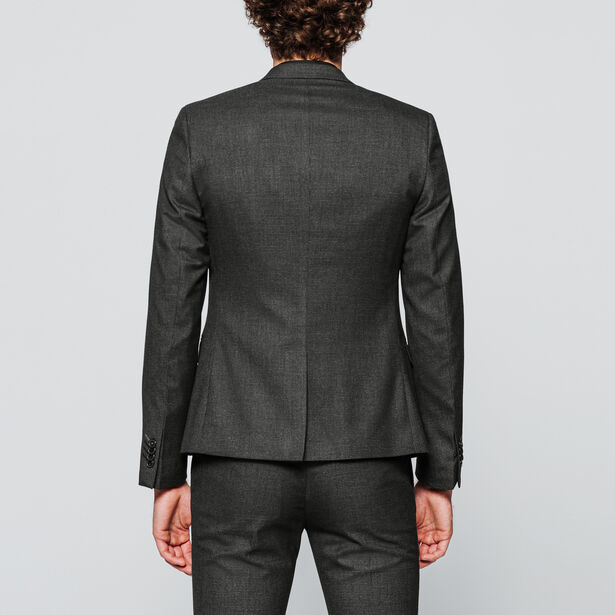 Veste de costume extra slim  motif pied-de-poule