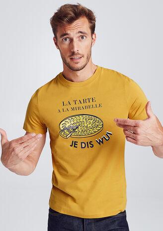 Tee-shirt avec imprimé région LORRAINE