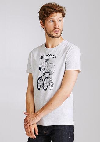 Tee-shirt vélo région BRUXELLES