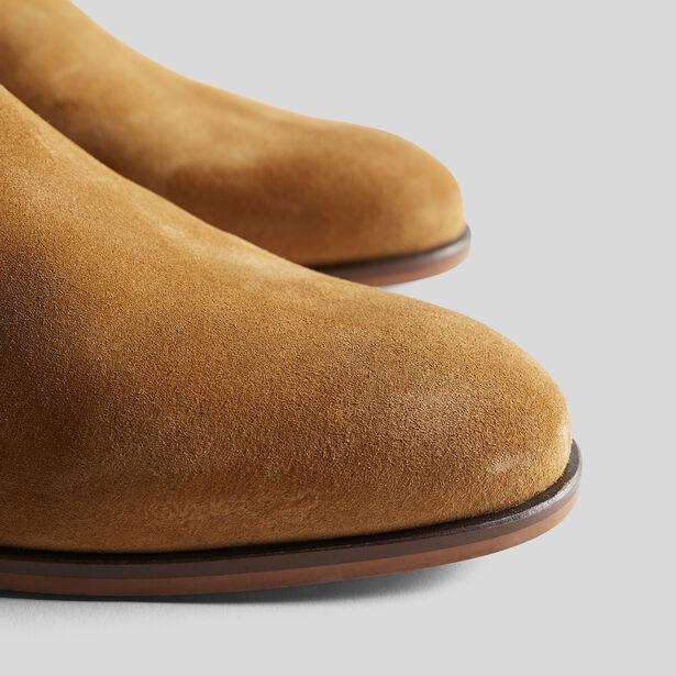 Chaussure ROCK cuir suédé