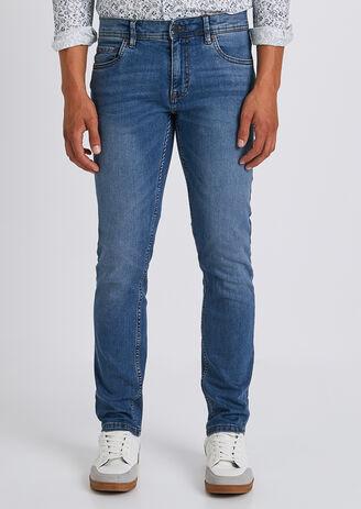Slim jeans 4L, light stone