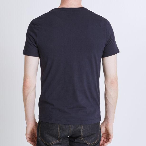 "Tee shirt imprimé ""par ici"" 100%made in France"