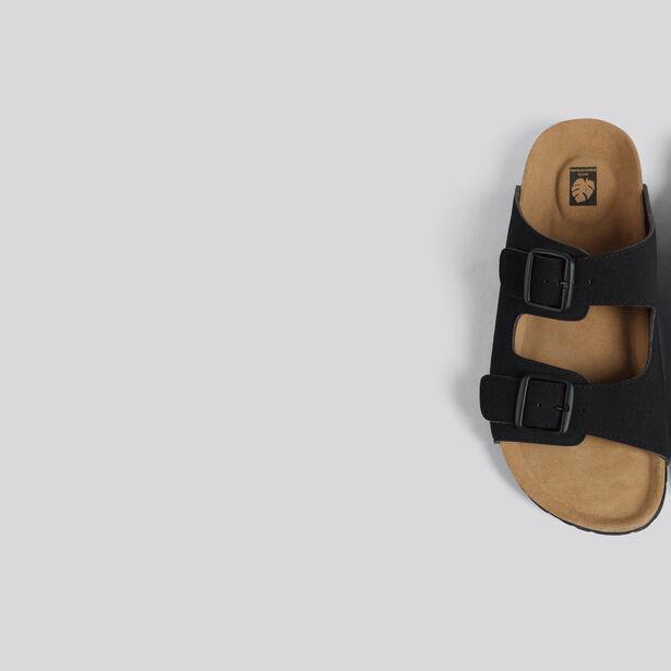 Sandalo doppie fibbie