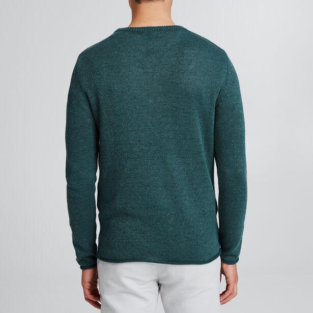 Effen trui met ronde kraag