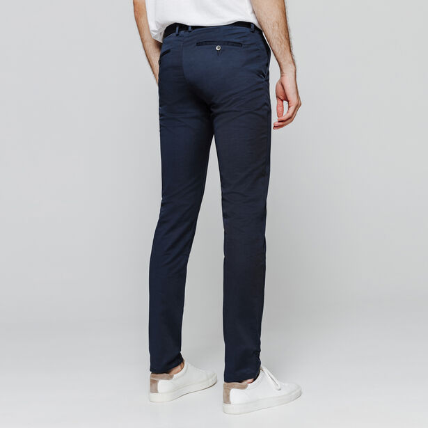 Pantalon chino slim coton stretch