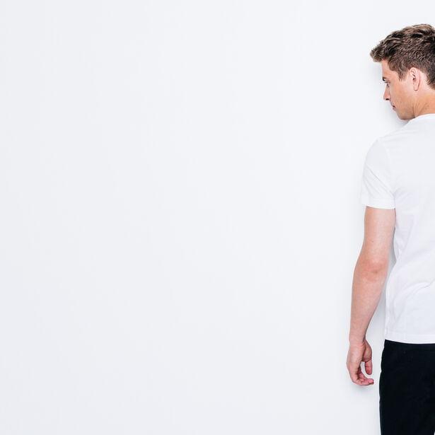 "T-shirt col rond imprimé ""MATH"""