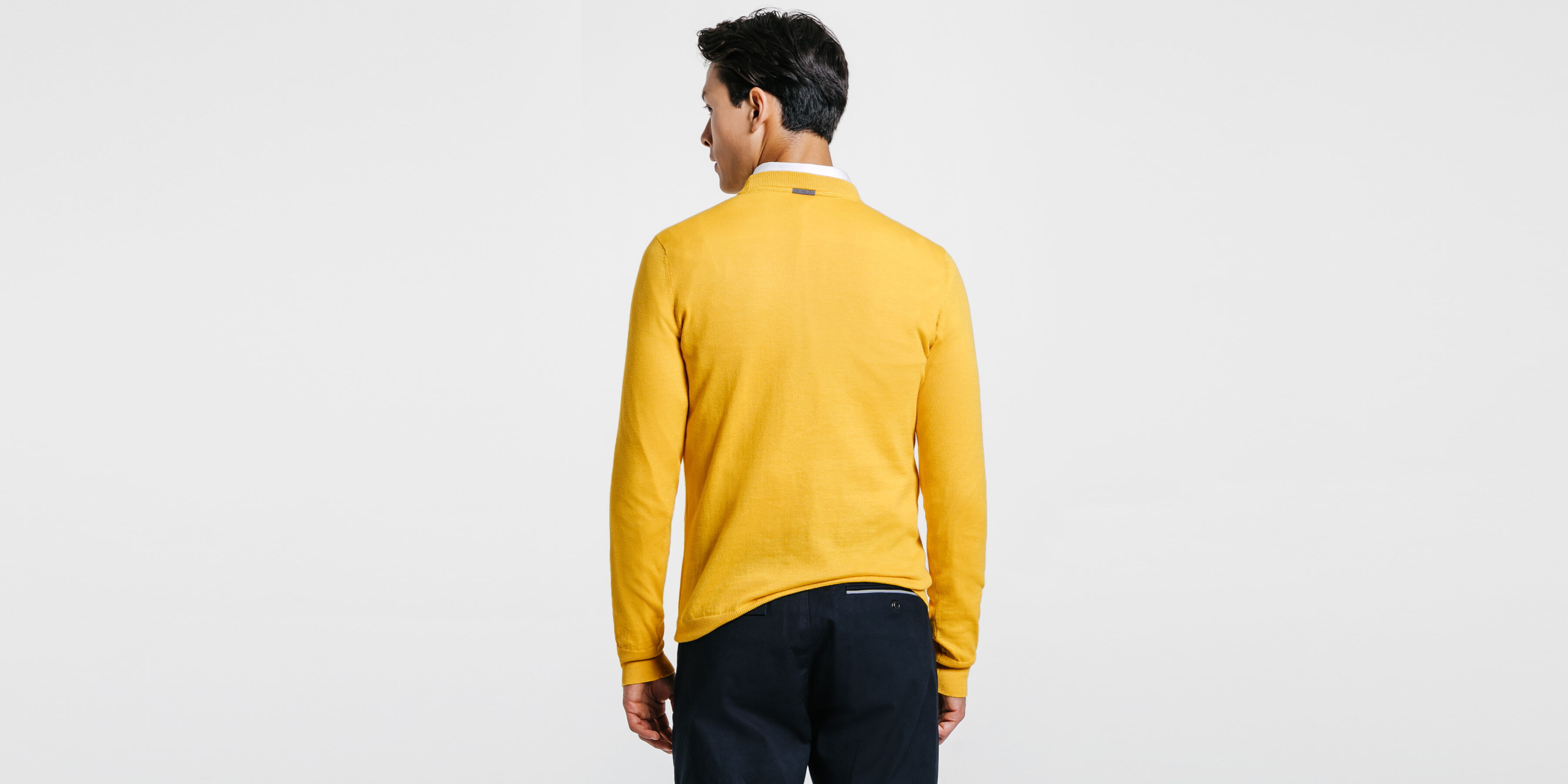 ca24aaf453726 Pull Jaune Moutarde Homme Jules Urbanizer Collection FqFxgwT6A