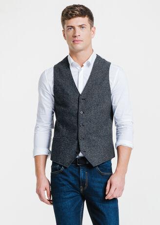 Gilet de costume polyester majoritaire